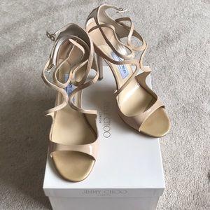 Brand New Jimmy Choo Patent Leather Nance shoe- 41